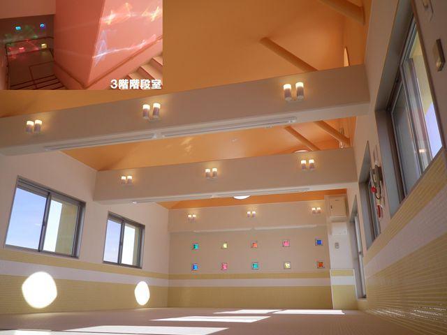 3階ホールと階段